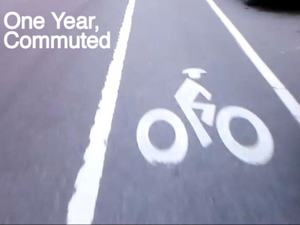 One Year, Commuted's video poster