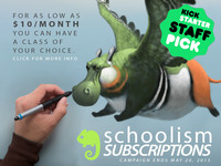 SCHOOLISM SUBSCRIPTIONS: ART EDUCATION MADE AFFORDABLE