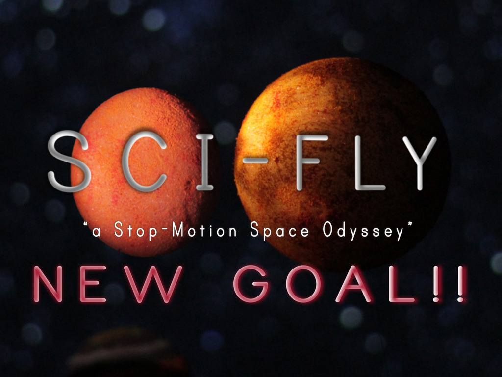 "SCI-FLY   ""a Stop-Motion Space Odyssey""'s video poster"