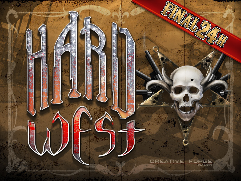 Hard West's video poster