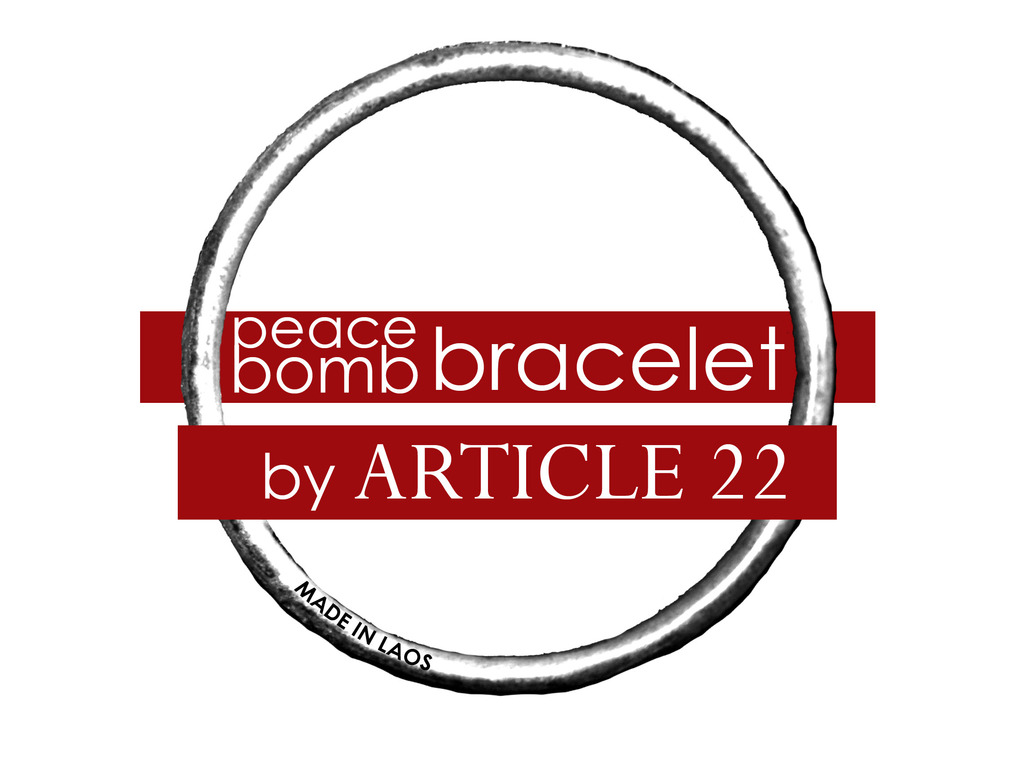 peaceBOMB Film: Bombs into bracelets MADE IN LAOS. Fund the film + get a bracelet's video poster