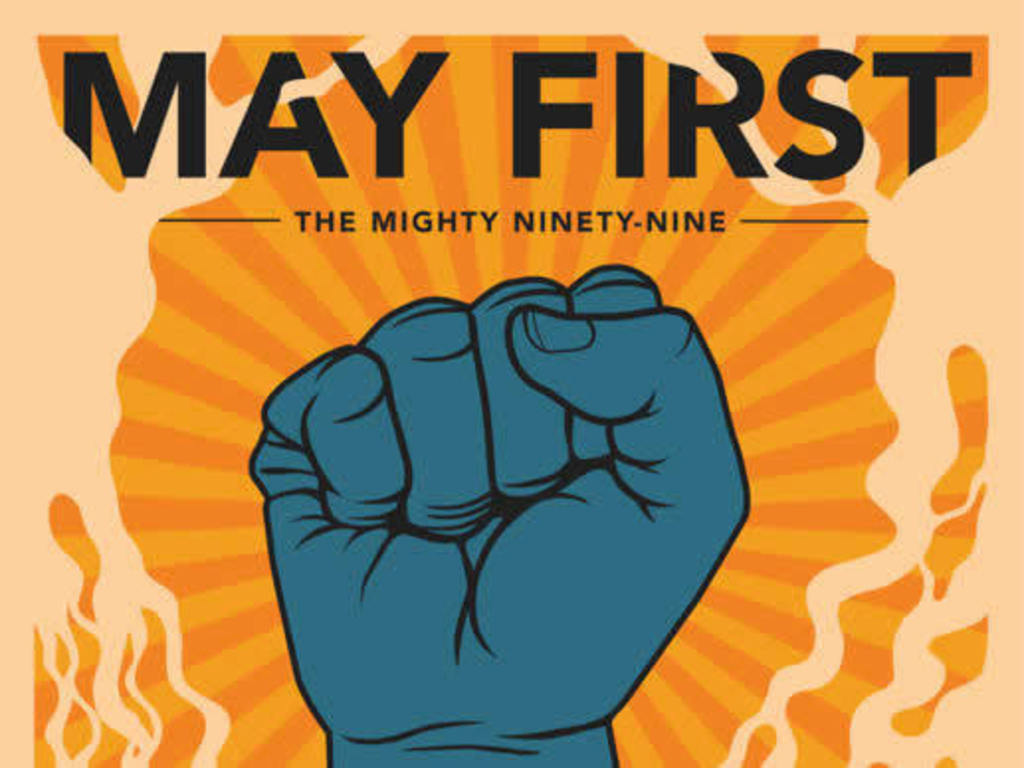 May First, The Mighty Ninety-Nine Limited Edition Print's video poster