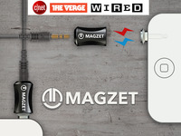 MAGZET: The Audio Jack Reinvented with the Power of Magnets