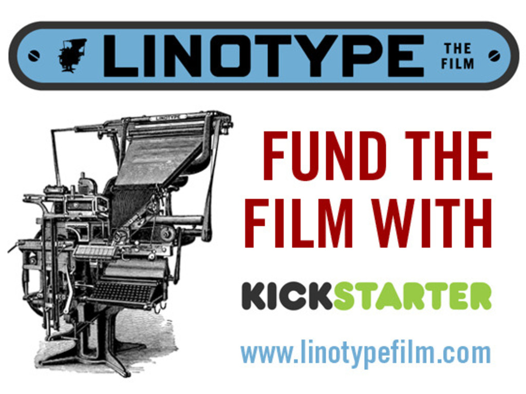 Linotype: The Film's video poster