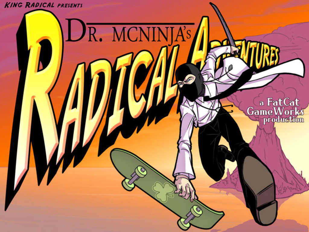 Dr. McNinja's Radical Adventures!'s video poster