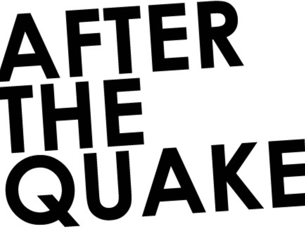 After the Quake's video poster