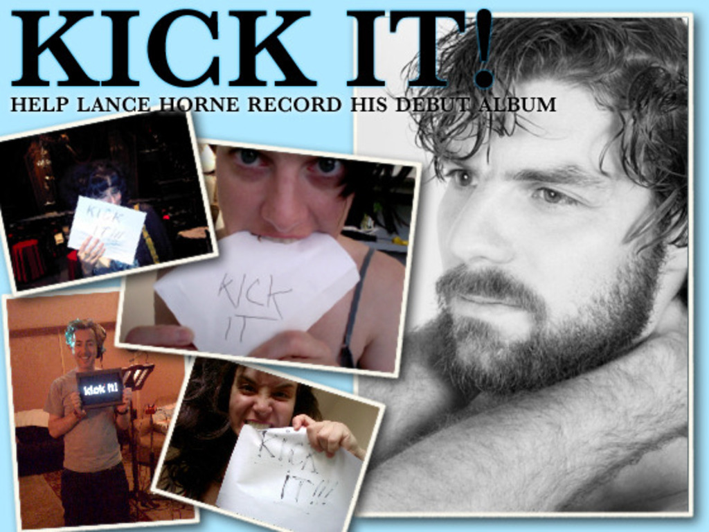 """Kick Me! Fund My Debut Album, """"FIRST THINGS LAST""""'s video poster"""