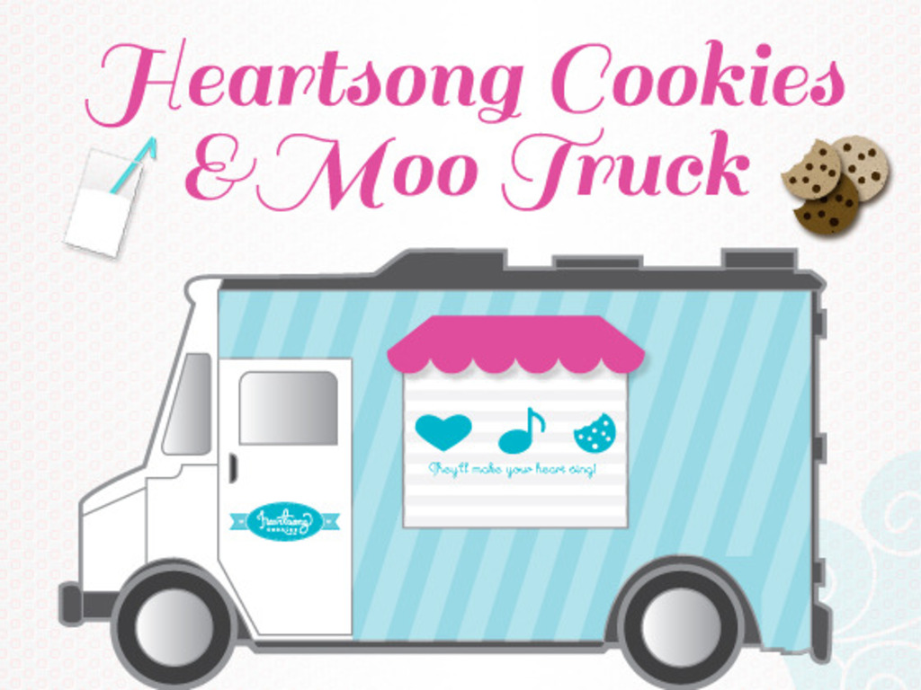 Heartsong Cookies and Moo Truck's video poster
