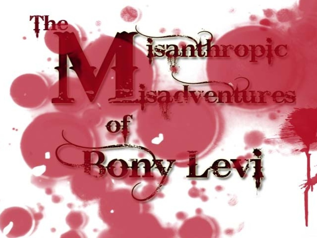 The Misanthropic Misadventures of Bony Levi's video poster