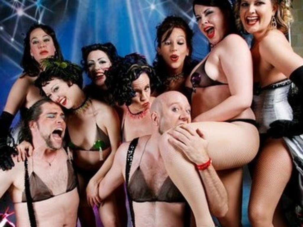 """The PEEKABOO REVUE """"On the Road to Vegas"""" 2012's video poster"""