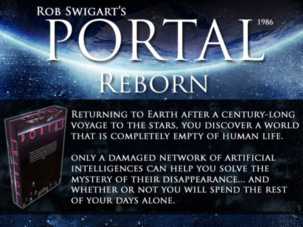 Rob Swigart's Portal (1986) Reborn (Canceled)'s video poster
