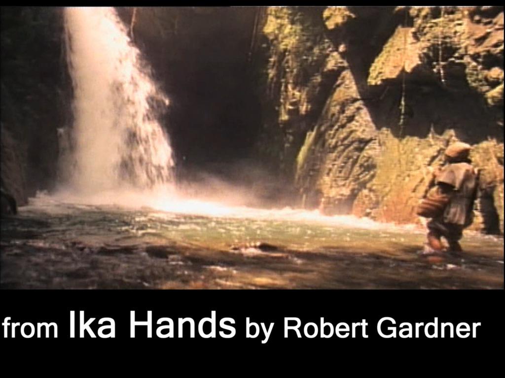The Cinema of Robert Gardner's video poster