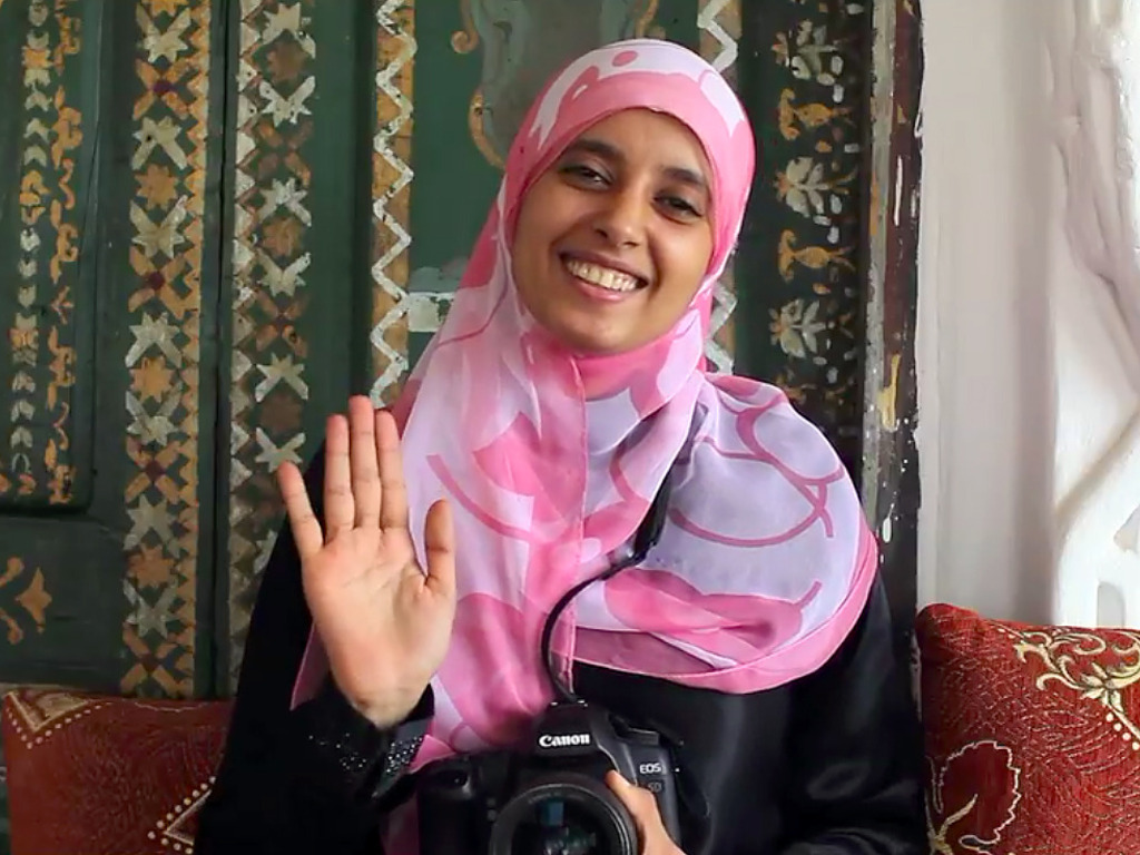 Unveiling Misconceptions: A Muslim Woman Documents Lives of American Women's video poster