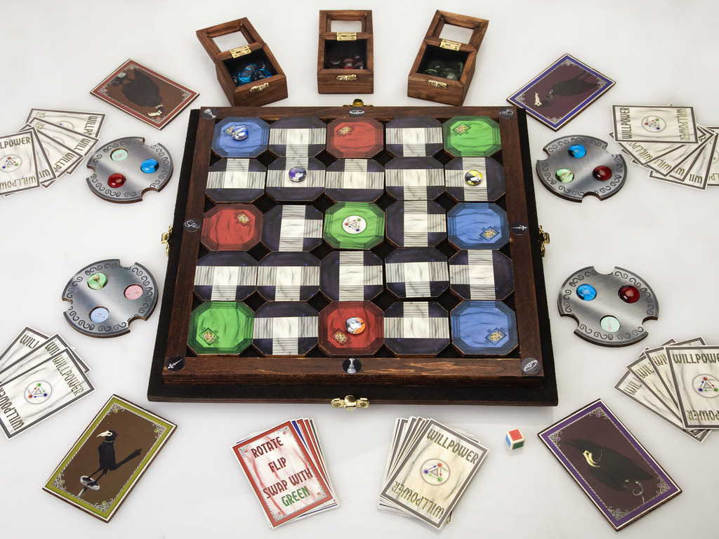 Escape from Pandemonium: The Board Game. Control the Chaos!'s video poster