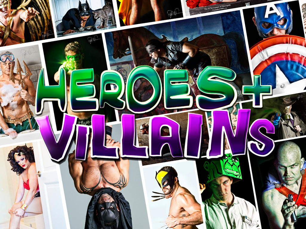 Heroes + Villains #3's video poster
