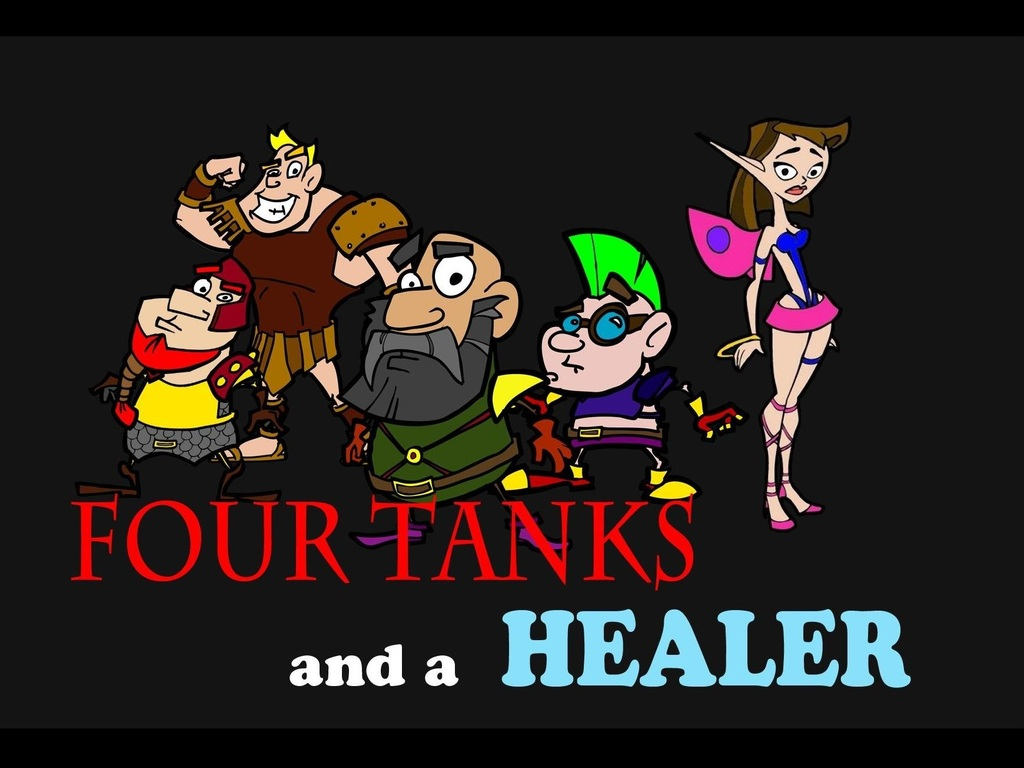 Four Tanks and a Healer's video poster