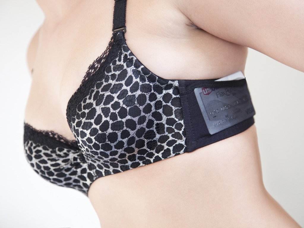 JoeyBra, the first sexy and comfortable pocketed bra!'s video poster