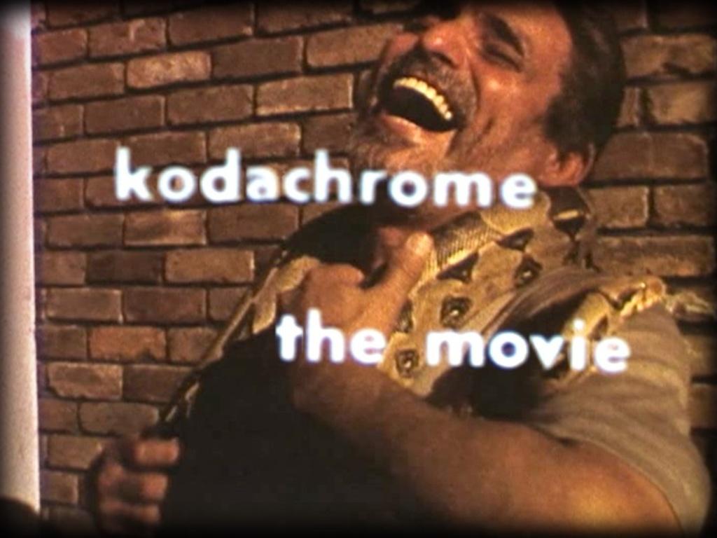 KODACHROME: The Movie's video poster