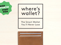 Where's Wallet: The Smart Wallet You'll Never Lose