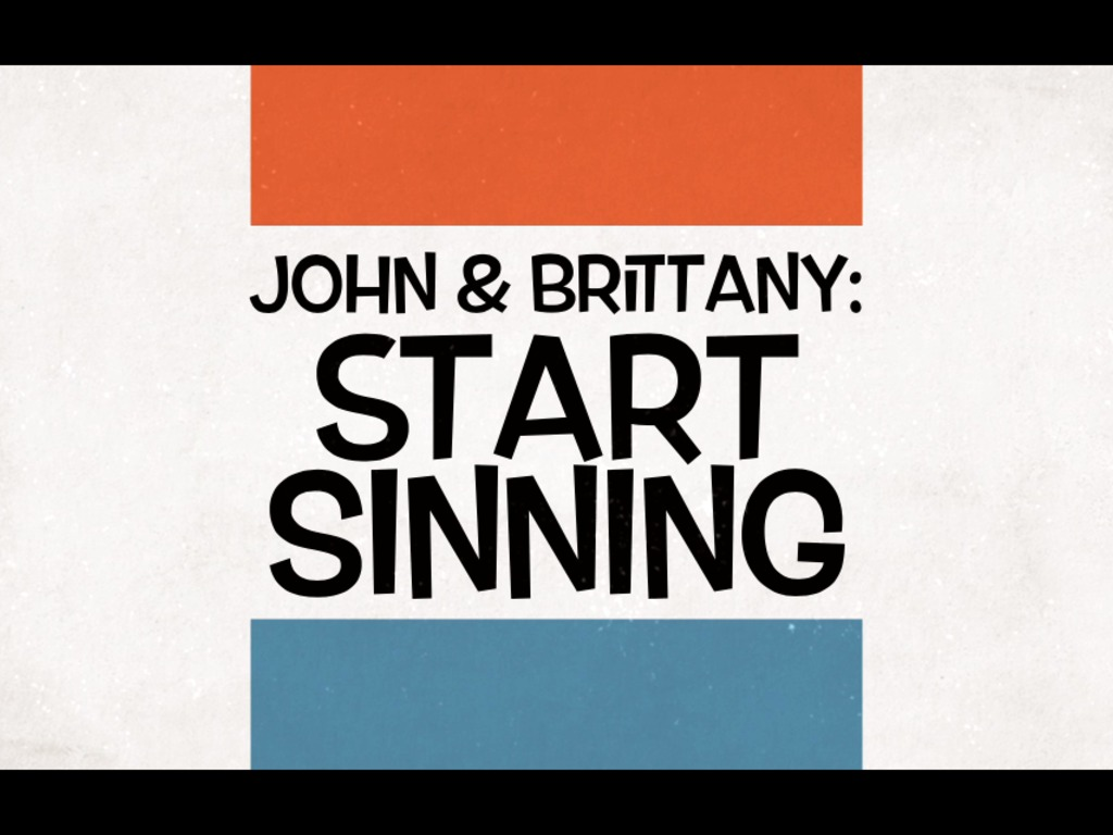 "John & Brittany ""Start Sinning"".. the new record!'s video poster"
