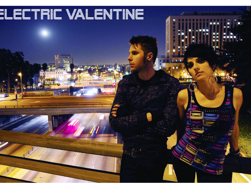 The new Electric Valentine record's video poster