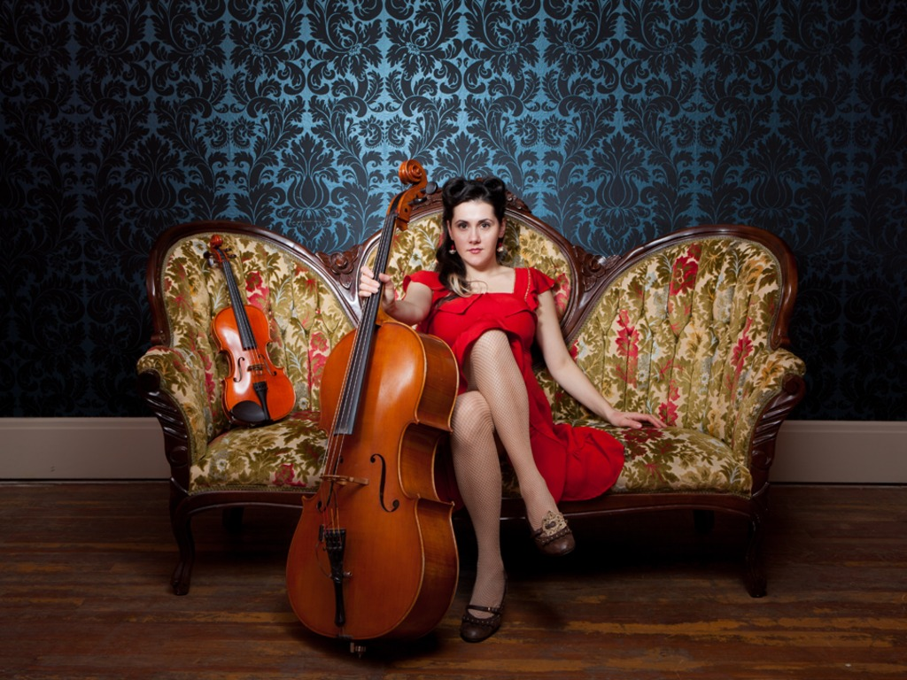 Ashia & the Bison Rouge, Cellist Songbird, Records an Album!'s video poster