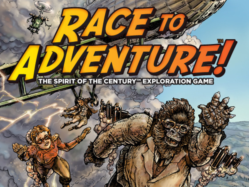Race to Adventure! A Spirit of the Century™ Board Game's video poster