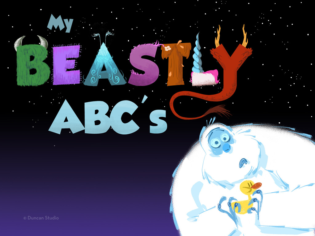 """Duncan Studio - """"My Beastly ABC's"""" Interactive Storybook App's video poster"""
