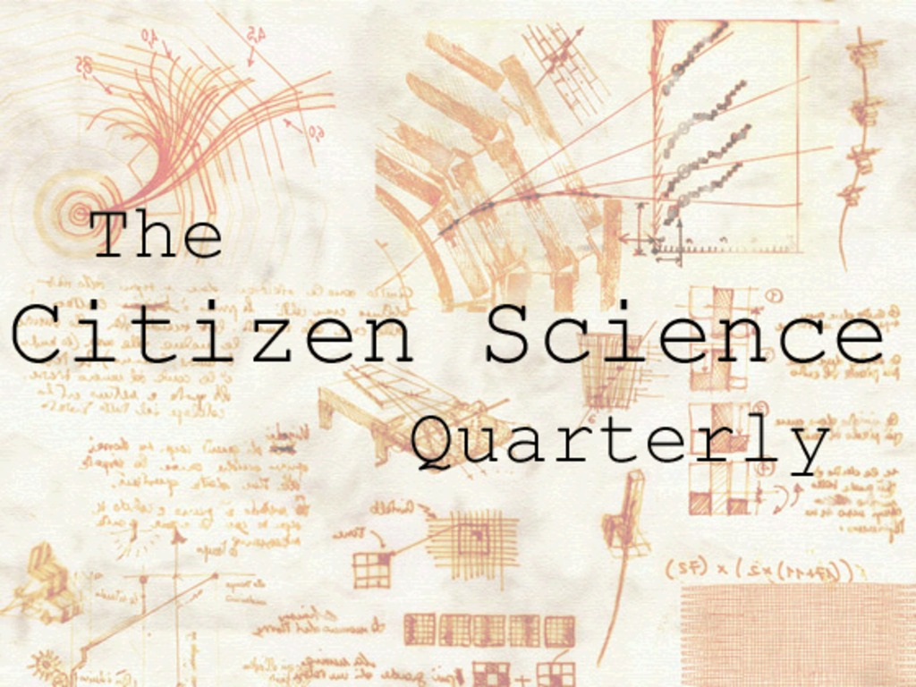 The Citizen Science Quarterly's video poster