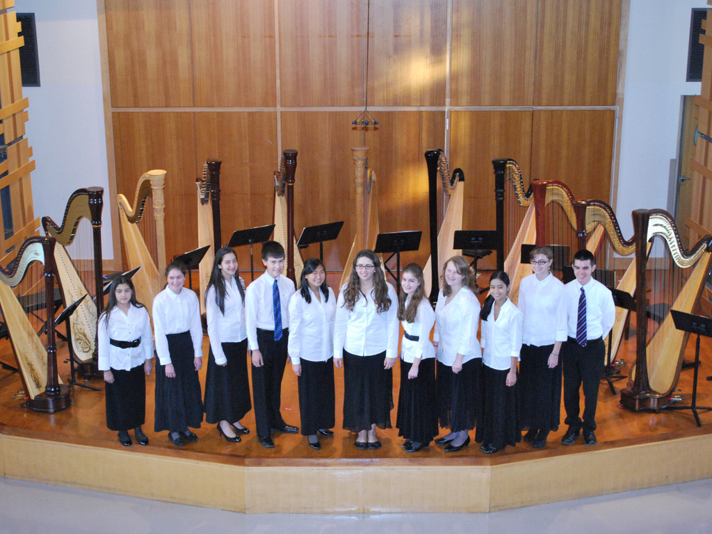 Young Artists Harp Ensemble Tours France!'s video poster