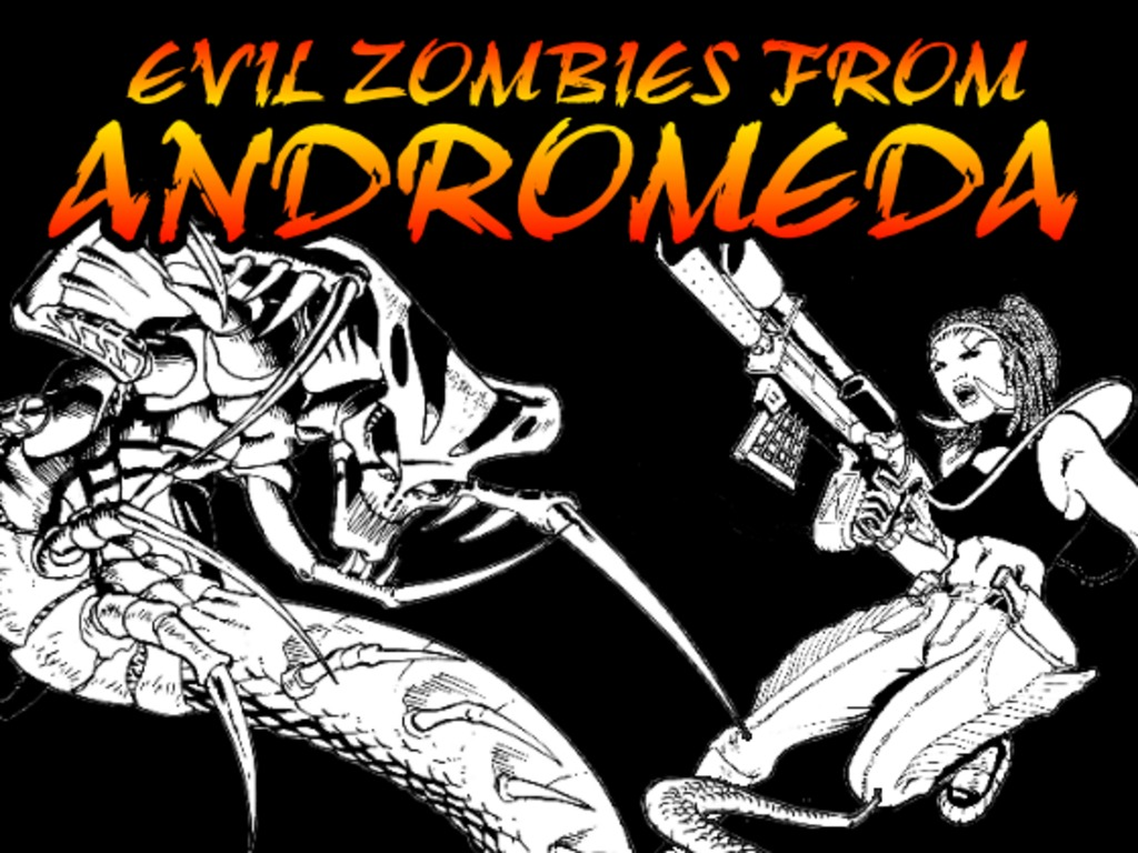 Evil Zombies from Andromeda's video poster