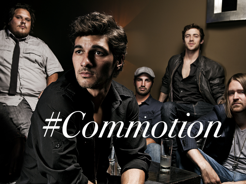 COMMOTION: The New Winbourne Record's video poster