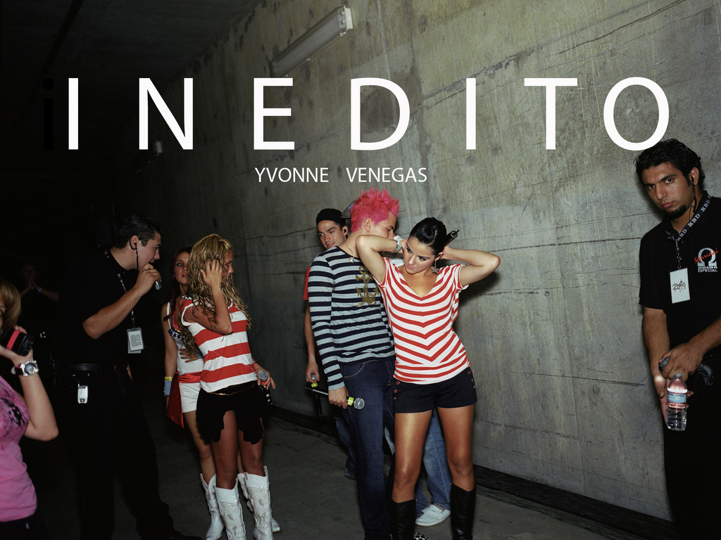 INEDITO -  A photobook about a Mexican pop phenomenon's video poster