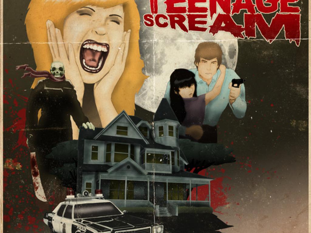 TEENAGE SCREAM's video poster