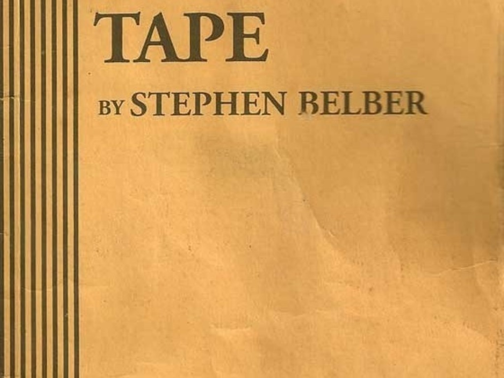 TAPE by Stephen Belber's video poster