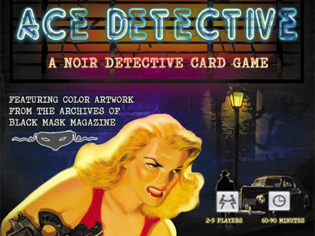 ACE DETECTIVE:Storytelling Game featuring Black Mask Artwork's video poster