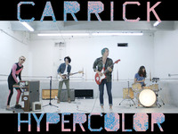 "CARRICK RELEASES DEBUT ALBUM ""HYPERCOLOR"""
