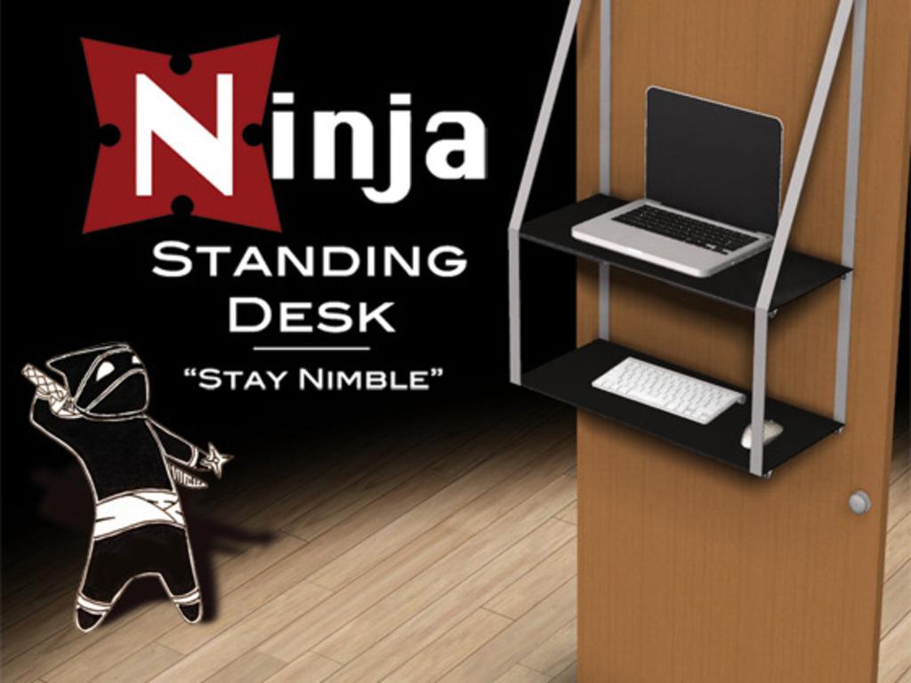 Ninja Standing Desk's video poster