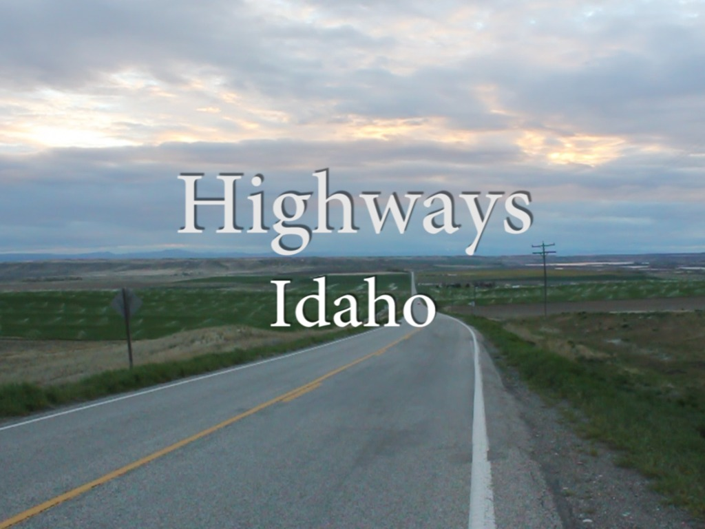 Highways Idaho's video poster