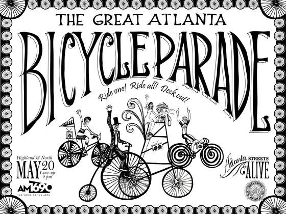 The Great Atlanta Bicycle Parade's video poster