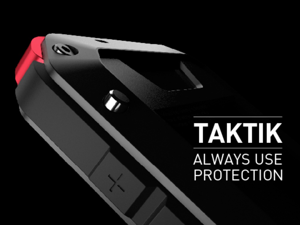 TAKTIK: Premium Protection System for the iPhone's video poster