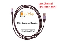 Ultra Strong & Rugged Cable for iPhone & iPad - 10 Ft Long