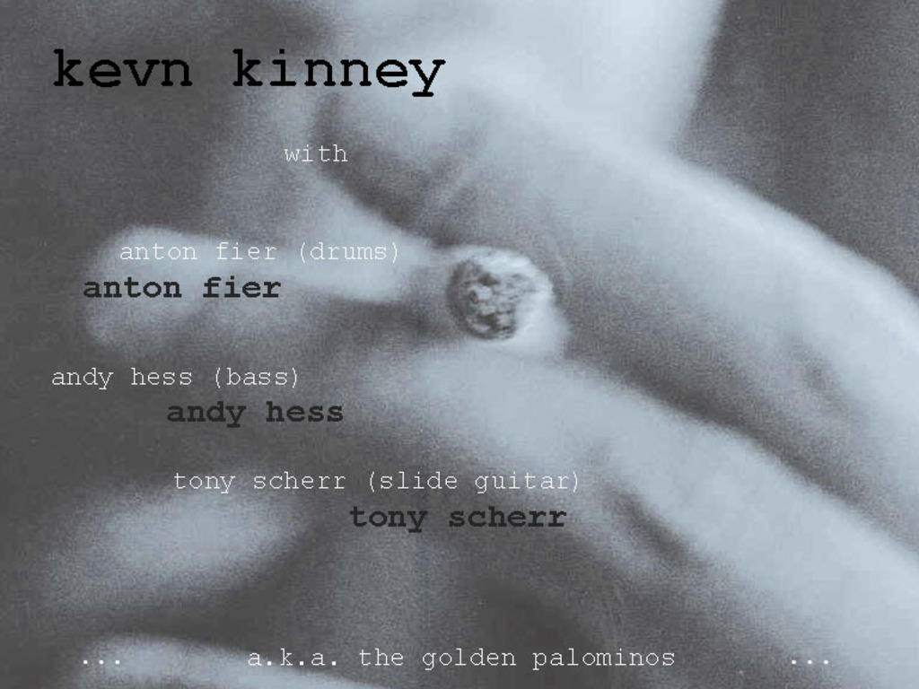 a good country mile: kevn kinney & anton fier album project's video poster