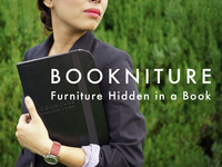 BOOKNITURE- Furniture Hidden in a Book