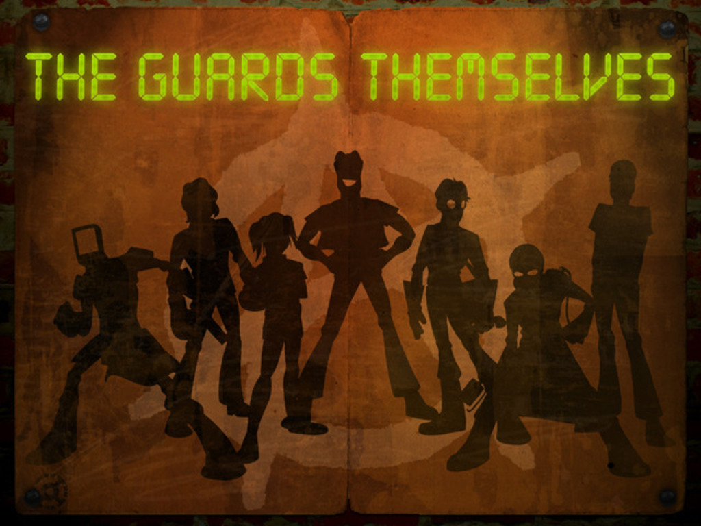 The Guards Themselves's video poster