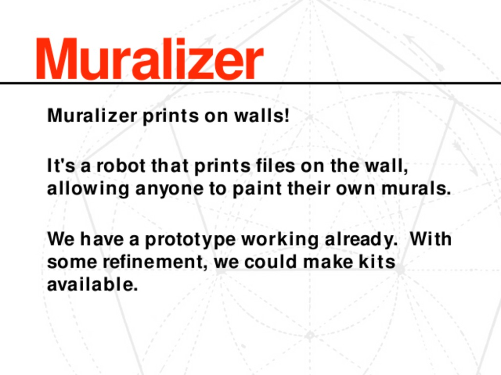 Muralizer: it prints on walls!'s video poster