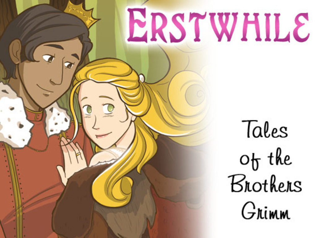 Erstwhile Fairy Tale graphic novel's video poster