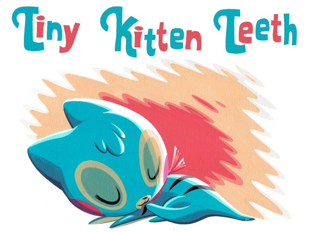 Tiny Kitten Teeth Deluxe Hardcover Book's video poster
