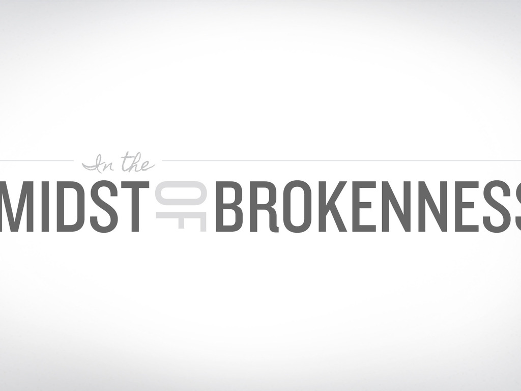 In the Midst of Brokenness EP's video poster