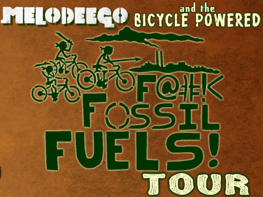 Melodeego's F@#!< Fossil Fuels Tour's video poster
